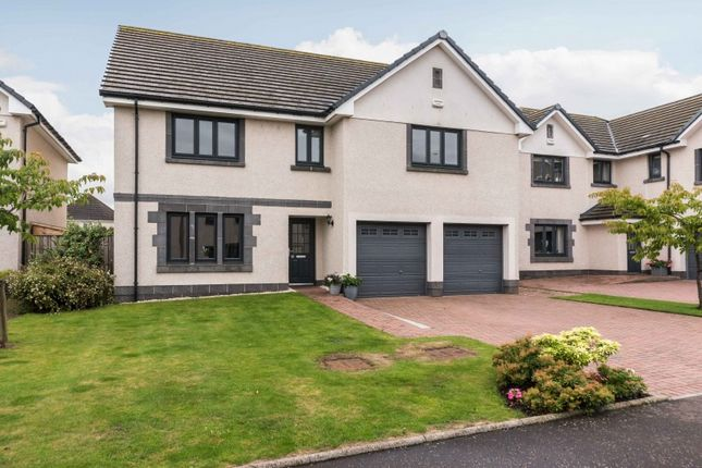 Thumbnail Detached house for sale in Burnbrae Avenue, Edinburgh