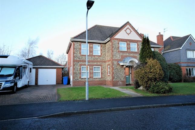 Thumbnail Detached house to rent in Norham Drive, Stobhill Manor, Morpeth