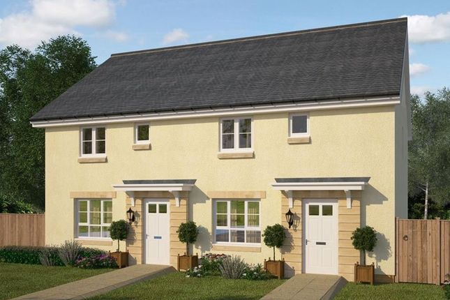 """Thumbnail Terraced house for sale in """"Coull"""" at Oldmeldrum Road, Inverurie"""