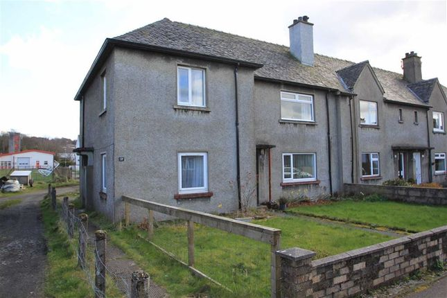 Thumbnail Flat for sale in Brodie Crescent, Lochgilphead