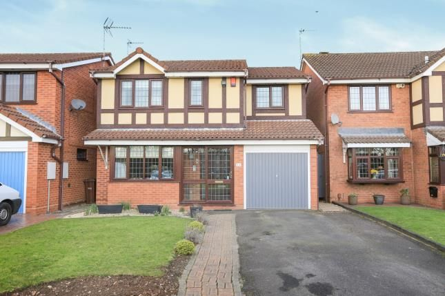 Thumbnail Detached house for sale in Fincham Close, Pendeford, Wolverhampton, West Midlands
