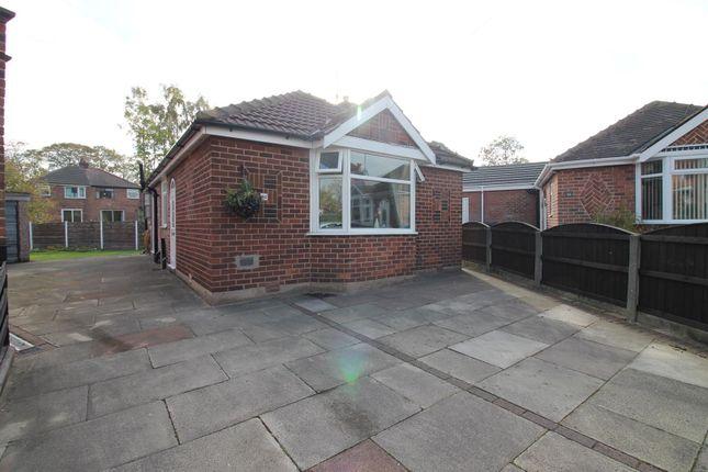 Thumbnail Detached bungalow for sale in Whitegate Park, Flixton, Urmston, Manchester