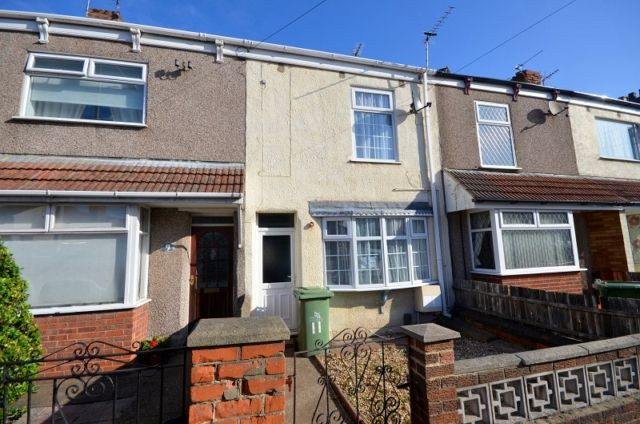 Thumbnail 2 bed terraced house to rent in Wintringham Road, Grimsby