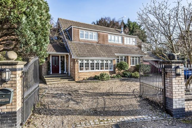 Detached house for sale in Friary Island, Wraysbury, Surrey