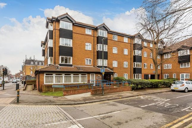 Thumbnail 2 bed flat for sale in Lewes Court, 1 Chatswoth Place, Mitcham