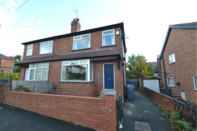Thumbnail Semi-detached house for sale in Kirkstall Mount, Kirkstall, Leeds