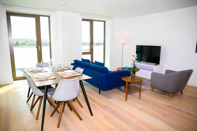Thumbnail Flat to rent in Laker House, Royal Wharf, 10 Nautical Drive
