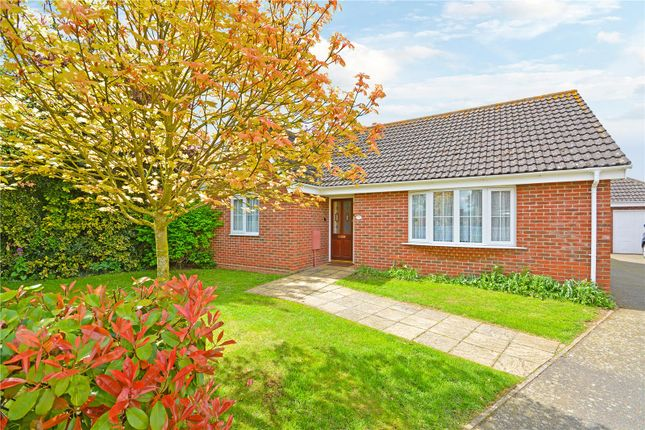 Thumbnail Detached bungalow for sale in Hopton, Diss
