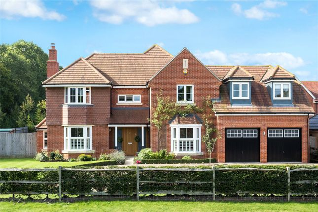Thumbnail Detached house for sale in The Cobbs, Hartley Wintney, Hook