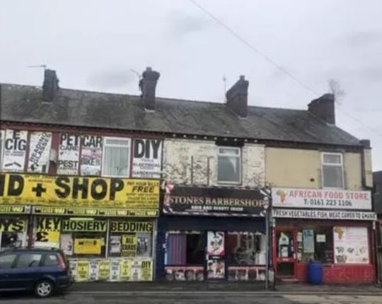 Retail premises for sale in Wellington Street, Gorton, Manchester