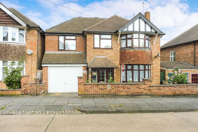 Thumbnail Detached house for sale in Wintersdale Road, Leicester