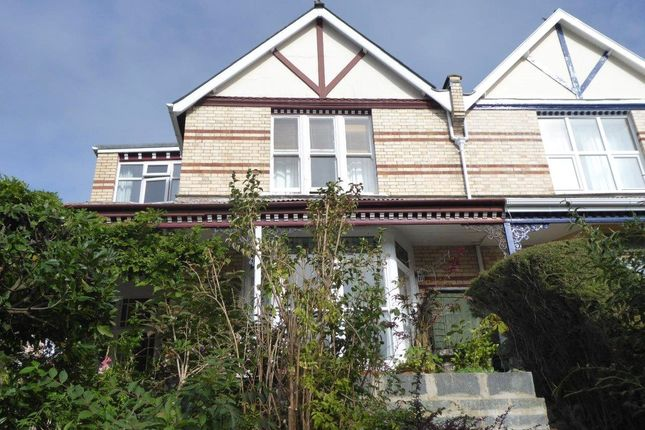 Thumbnail Semi-detached house for sale in St. Brannocks Park Road, Ilfracombe