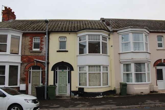 Thumbnail Terraced house to rent in Cassiobury Road, Weymouth