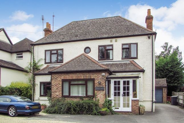 Thumbnail Detached house for sale in London Road, Benham Hill, Thatcham
