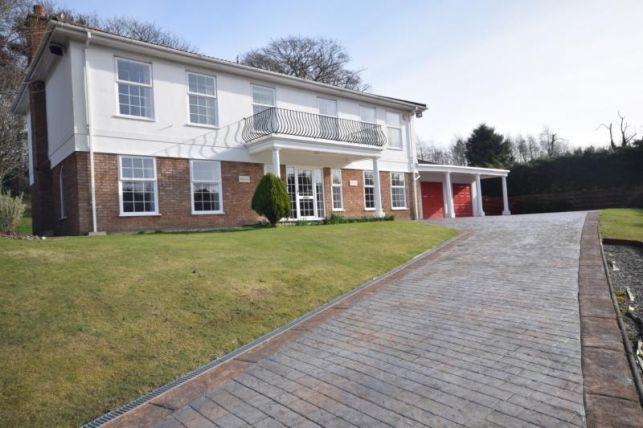 Thumbnail Detached house to rent in Braddan, Douglas