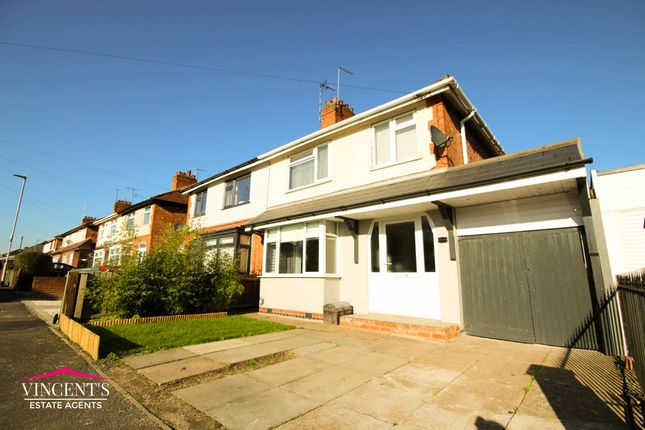 Thumbnail Semi-detached house for sale in Gwencole Avenue, Leicester