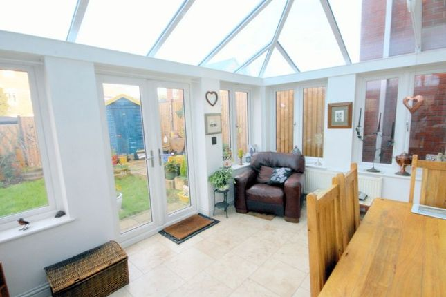 Thumbnail Terraced house for sale in Rudyard Close, Stone