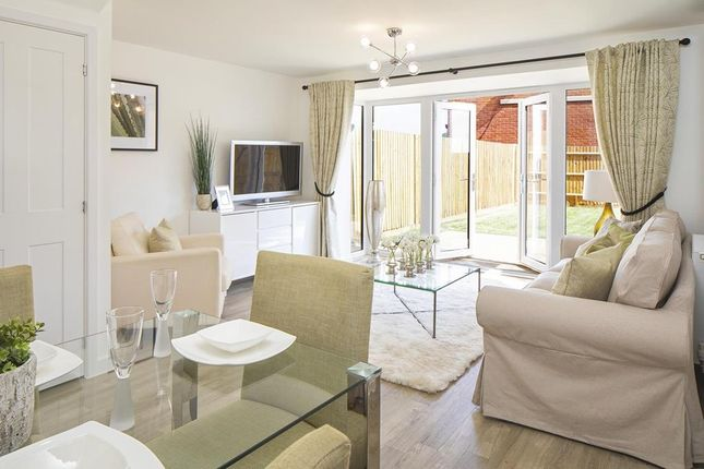 "Thumbnail Semi-detached house for sale in ""Dunford"" at Fetlock Drive, Newbury"