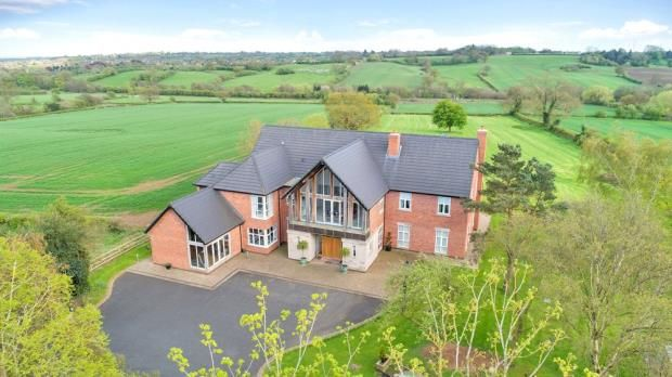 Thumbnail Detached house for sale in Kiddlestitch, Uttoxeter