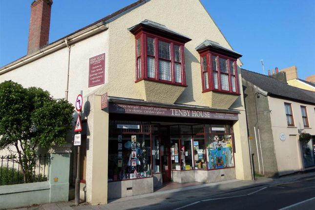 Thumbnail Retail premises for sale in West Street, Fishguard