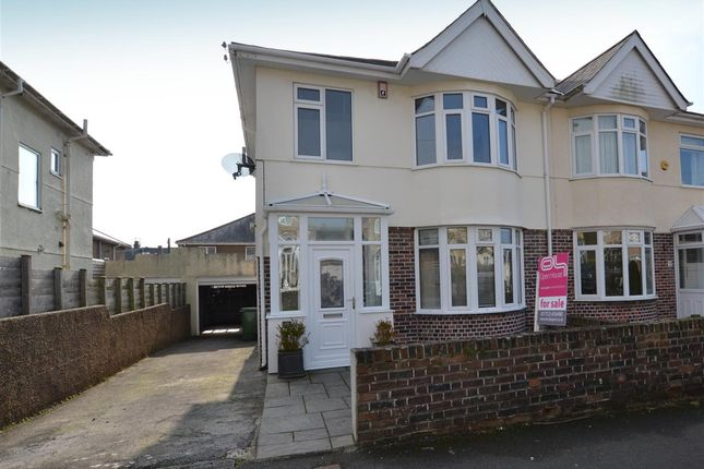 3 bed semi-detached house for sale in Langhill Road, Plymouth