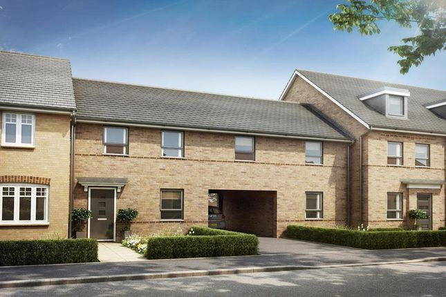 "Thumbnail End terrace house for sale in ""Wilstead"" at Southern Cross, Wixams, Bedford"
