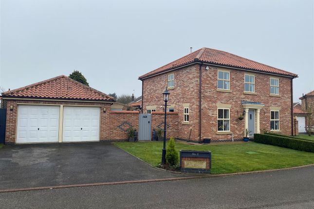Thumbnail Detached house for sale in Foundry Garth, Burton Pidsea, Hull