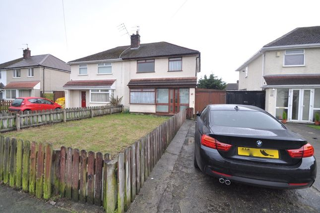 Thumbnail Semi-detached house to rent in Twickenham Drive, Moreton, Wirral