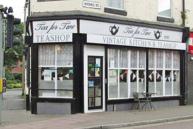Restaurant/cafe for sale in 144 Widnes Road, Widnes