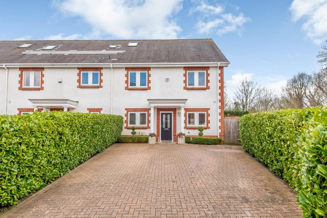 Thumbnail End terrace house for sale in Lakeside Drive, Chobham
