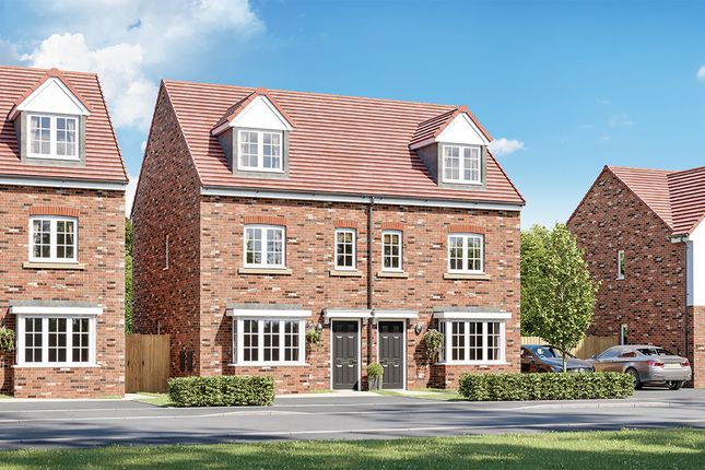 """3 bed property for sale in """"The Stratton"""" at Croston Road, Farington Moss, Leyland PR26"""