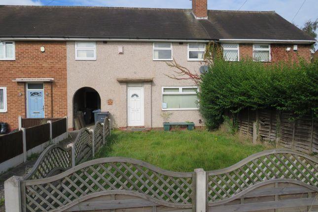 Thumbnail Terraced house for sale in Longmeadow Crescent, Shard End, Birmingham