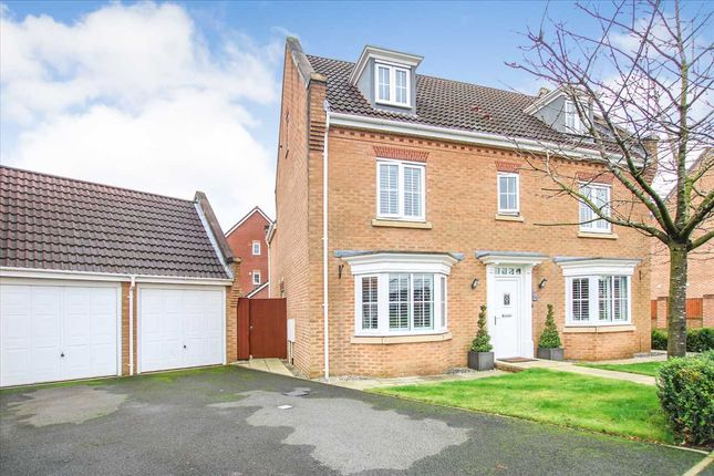 Thumbnail Detached house for sale in Fellfoot Meadow, Westhoughton, Bolton