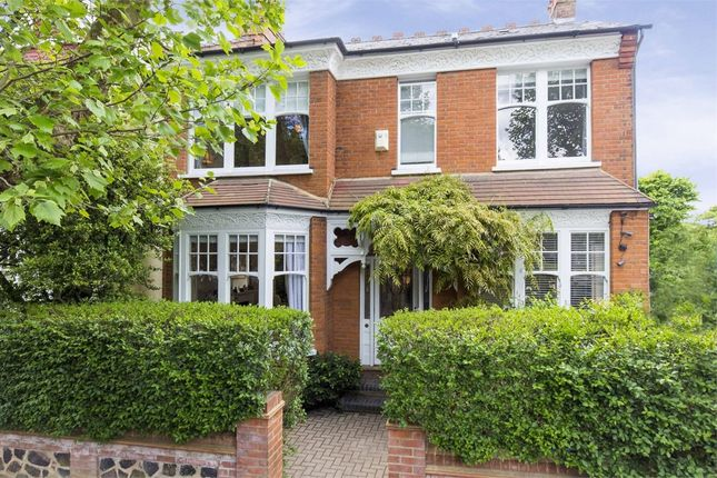 Thumbnail End terrace house for sale in Grand Avenue, Muswell Hill, London