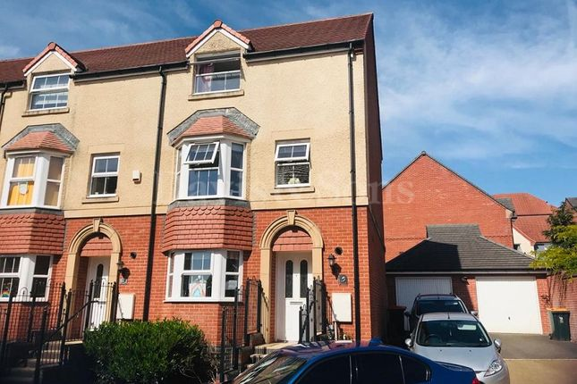 Thumbnail Semi-detached house to rent in Meadow Close, Newport