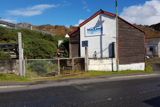 Thumbnail Industrial for sale in Station Road, Kyle Of Lochalsh