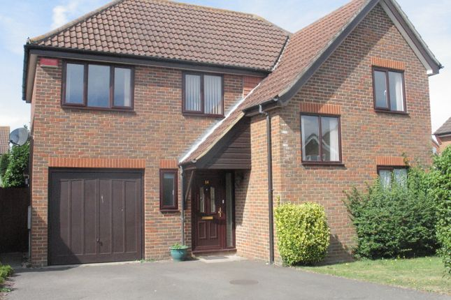 Thumbnail Detached house to rent in Warren View, Orchard Heights, Ashford, Kent
