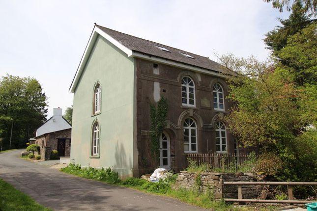 Thumbnail Detached house for sale in Trecastle, Trecastle, Brecon
