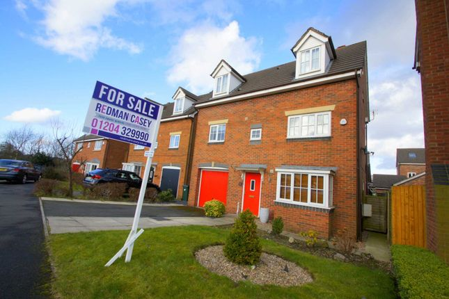 Thumbnail Detached house for sale in Owsten Court, Horwich, Bolton
