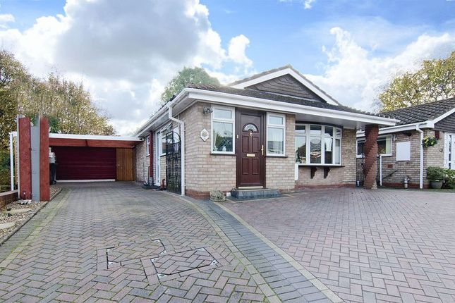 Thumbnail Detached bungalow for sale in Halecroft Avenue, Wednesfield, Wolverhampton