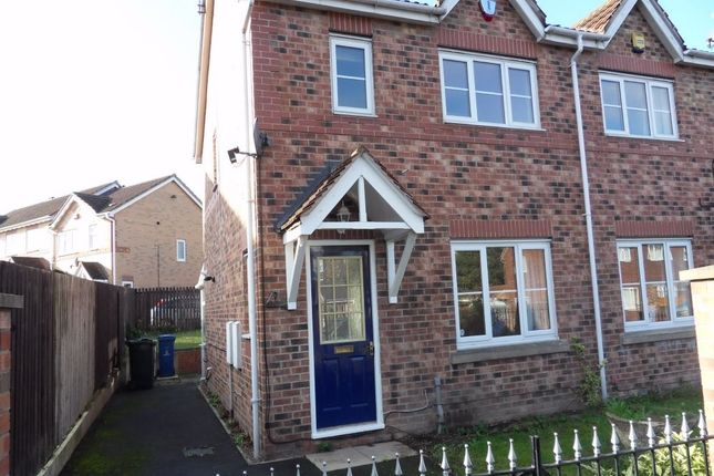 Thumbnail Semi-detached house to rent in Wood Park View, Athersley, Barnsley, South Yorkshire