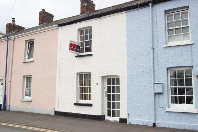 Thumbnail Terraced house for sale in Baker Street, Abergavenny