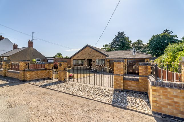 Thumbnail Bungalow for sale in Woodend Road, Heacham, King's Lynn