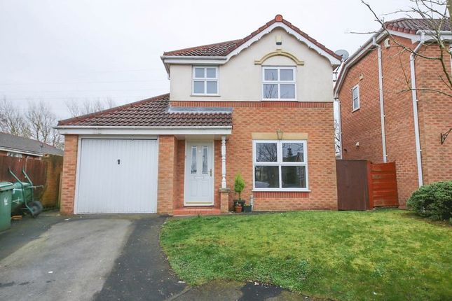 Thumbnail Detached house for sale in Gladden Hey Drive, Winstanley, Wigan