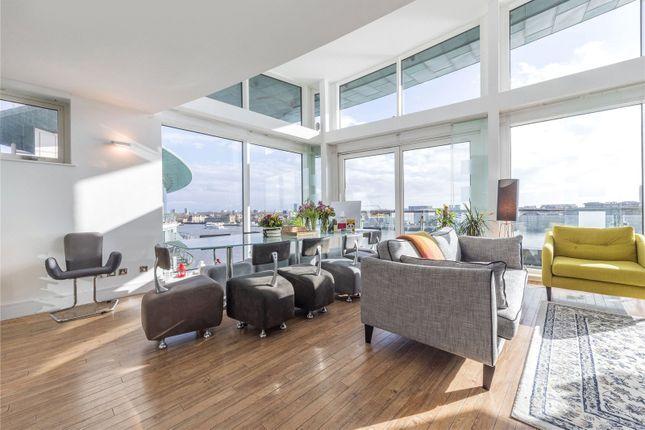 Living Area of Cinnabar Wharf West, 22, Wapping High Street, Tower Bridge E1W