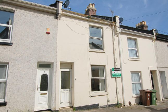 Thumbnail Terraced house to rent in Dundas Street, Stoke, Plymouth