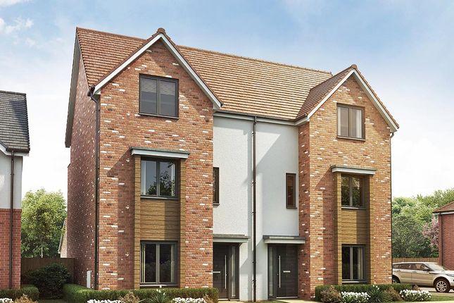 "Thumbnail Semi-detached house for sale in ""The Sutton"" at Vigo Lane, Chester Le Street"
