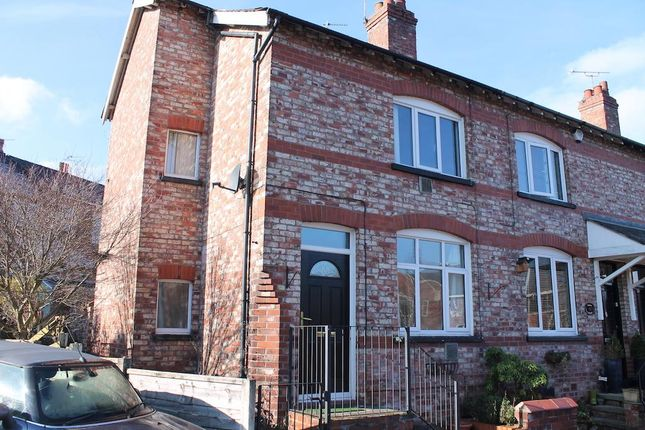 Thumbnail End terrace house to rent in Bollin Walk, Wilmslow