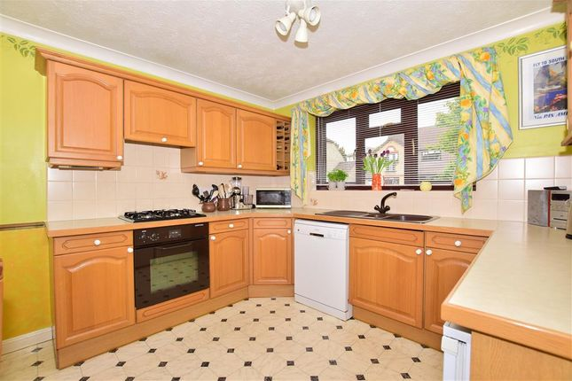 Thumbnail Detached house for sale in Swallow Court, Ridgewood, Uckfield, East Sussex