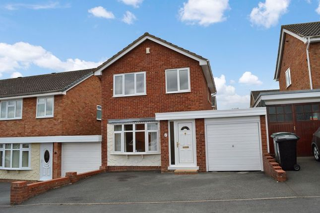 Thumbnail Detached house to rent in Redfield Close, Broseley